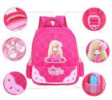 Mochila infantil mochila da menina de 1 a 3 Grau Saco de desenhos animados