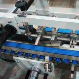 Automatisch pvc die van Lin van Cheng Machine van de Doos, de Doos die van het HUISDIER vouwen Lijmend Machine de vouwen