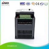 Triplo di CA di Sako 230V (3) convertitore solare fotovoltaico dell'invertitore della pompa ad acqua del raggruppamento dell'uscita 0.75kw 1HP di fase