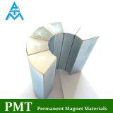N40sh Fliese-Form-Neodym-Magnet mit Zink-Beschichtung