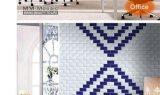 Wand-Untergrundbahn-Fliese-Badezimmer-/Küche-Dekoration des Schatz-Blau-3X6inch/7.5X15cm glatte glasig-glänzende keramische