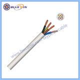 2 conducteurs câble souple de 2,5 mm 3 Core câble souple Ronde 3 Core câble souple de 2,5 mm
