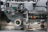 à travers l'étiqueteur automatique de café de collant latéral