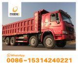 Precio bajo usado calidad fuerte de los neumáticos del volquete 12 de los carros de vaciado de HOWO para el mercado del Dr. Congo