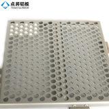 Metal perfurado de alumínio da arquitetura decorativa do material de construção