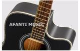 """Guitarra acústica del Basswood 41 de la música de Afanti """" (AAG-118)"""