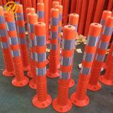 O tráfego de PU flexível Post / POST / Aviso de elasticidade da coluna da Mola