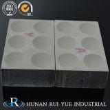 Crogiolo di ceramica elettrico di analisi di fuoco del forno a crogiolo di alta qualità refrattaria