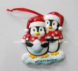 Het Ornament van Kerstmis van de Baby van Polyresin