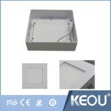 ISO9001 montagem saliente da Luz do painel de LED 6W 12W 18W 24W