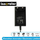 AC gelijkstroom van de Adapter van de Macht van de Stop van Europa van de efficiency 12V 2.0A 24W Adapter