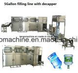 cadena de producción del agua de Drinkg del barril 5gallon para 200bph 300bph 450bph 600bph 900bph 1200bph 1500bph