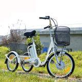 Tres batería de litio grande del triciclo 36V 10ah de las ruedas Trike para los ancianos