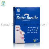 Mejor efecto de alivio del sueño ronquido parches Anti ronquidos dispositivo Anti obstrucción nasal aceptar OEM