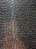 De spiegel beëindigt het Kiezelsteen In reliëf gemaakte Blad van het Aluminium met Hoog Reflectievermogen