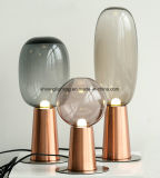 유럽식 현대, 간단한, 유리제 테이블 램프