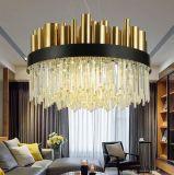 Modernes LED-Metallgrosser Beleuchtung-Kristallleuchter für Hotel