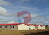 Villa chiara della costruzione prefabbricata della struttura d'acciaio