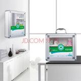 Schreibtisch und Wand-Hängen mittleren Haushalts-Aluminium-Erste HILFEen-Kasten ein