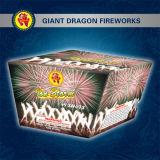 Fantastische Kuchen-Feuerwerke/Kracher der Reise-49shots