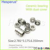 Rodamientos dentales Hesperus de Handpiece de la serie de alta velocidad dental del rodamiento 2.78m m de la alta calidad