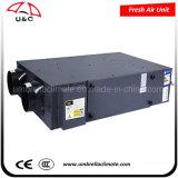 Pm2.5静電気のクリーニングの全体の熱交換器(DCモーター)