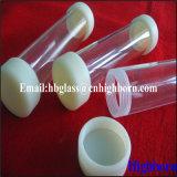 Hitzebeständigkeit-Schraubengewinde fixiertes Quarzglas-Rohr