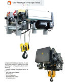 기중기 유럽 유형 호이스트 0.25ton/250kg를 위한 전기 철사 밧줄 호이스트