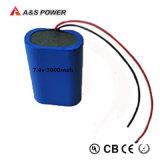 7,4 В 2s1p дешевые аккумуляторы размера 18650 литий литий-ионного аккумулятора