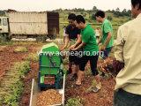 Récolteuse d'arachide et machine à ensacher de petite taille