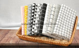 Tela da impressão 100%Linen para sofá ajustado da tabela da cortina do vestido