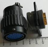 円コネクターを接続するYp28-24uq 19pinsのバイオネット