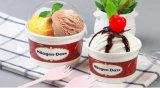 Family Pack PLA ламинированные мороженого Гелато Экономи мороженое с чашки из бумаги