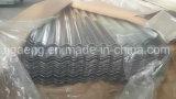 Hdgi laminou folha de aço galvanizada ondulada da telhadura para Ghana