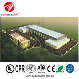 Prüfung des hohen Standard-305m führte CCTV Superlink Koaxialkabel RG6