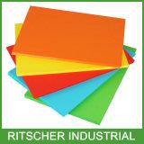 Placa colorida da cor da placa de Bristol do cartão do papel Offset da cópia