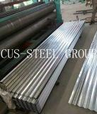 Etiópia SGS brilhante revestido de zinco chapa galvanizada/folha de metal corrugado galvanizado