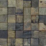 Mélange de couleur Panneau mural en bois de la Mosaïque Mosaïque de bois de cuisine