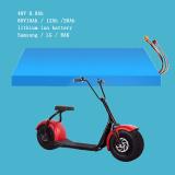 Un taux élevé de gros 60V 20Ah Batterie au lithium pour scooter électrique/Harley voiture