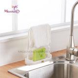مبتكر [مولتي-بوربوس] مطبخ تخزين طبق يحدّر قماش/إسفنجة حامل