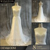 2017 Китая производителем одежды белого цвета свадебные платья