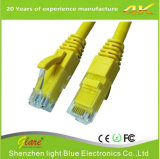 cable de LAN de 24AWG CCA UTP Cat5e