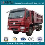 판매를 위한 Sinotruck HOWO 336HP 6*4 덤프 트럭 팁 주는 사람 트럭