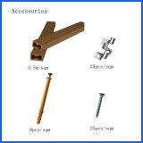 異なった穀物との卸し売り支持できる装飾的な木製のプラスチック合成のDecking /Flooring