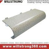 Finition PIERRE panneau composite aluminium PVDF pour revêtement de façade