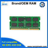 N.B. 1333MHz 256*8 16IC 4GB DDR3 Memoria