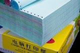 Le plus tard plus feuille colorée de papier autocopiant de pli