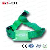 Wristband tessuto sublimazione alla moda di appoggio del tessuto RFID