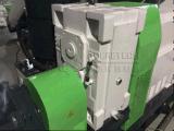 باثق بلاستيكيّة مزدوجة يعيد آلة في محبوب نفاية فيلم كسّار حصى آلات