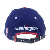 3D de la tapa de promoción de la moda de cuero bordado personalizado Deportes Proyecto de Ley de la tapa plana Snapback Hats hombre